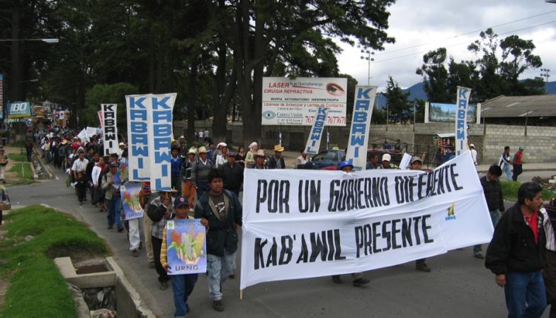 Småbøndenes folkehøgskole Kab'awil i Guatemala